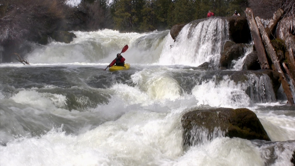 Dan Laham at Dillon Falls